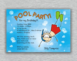 pool party invitations templates for kids invitations ideas pool party invitations templates for kids