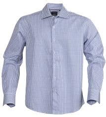 <b>Рубашка мужская в клетку</b> TRIBECA, синяя (артикул 6563.44 ...