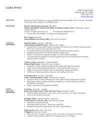 beginning teacher resume objective new resume oyulaw
