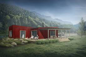 New Rustic Modern House Plans   Time to BuildMeet our latest contemporary cabin by new Signature designer Ignas Stancikas of Truoba  The bedroom bath design  which is Plan     includes a central