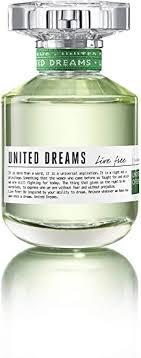 <b>Benetton United Dreams</b> Live Free Eau de Toilette Spray for Women ...