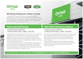 ornua foods uk linkedin shift manager who has the drive for improvement and innovative thinking then this could be the opportunity you are looking for