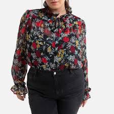 Купить <b>блузку</b> в интернет-магазине <b>LA REDOUTE</b> COLLECTIONS ...