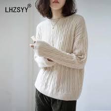 <b>LHZSYY</b> Sweater Women 's Cashmere Knit Jacket <b>Autumn Winter</b> ...