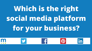 The right social media platform your business | MindVision