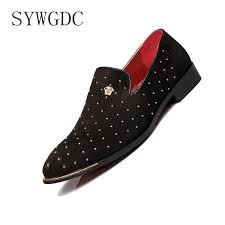<b>SYWGDC</b> 2019 <b>Leather</b> Formal <b>Men</b> Shoes Fashion <b>Men</b> Low Heels ...