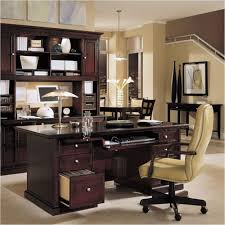 gorgeous classic office design presented with dark brown colored wooden rustic home office desks facing tall back of office chair with wooden framejpg amazing home office chair