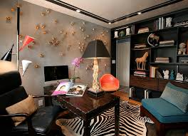 view in gallery eclectic and artistic home office in new york artistic home office track