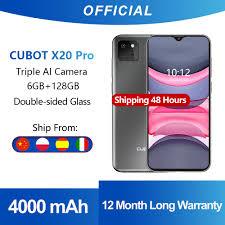 <b>Cubot X20 Pro</b> 6GB+128GB AI Mode Triple Camera Smartphone <b>6.3</b> ...