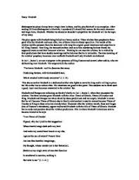 macbeth  critical essay  whether we should or shouldnt sympathize    page  zoom in