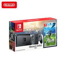 <b>Игровая приставка Nintendo Switch</b> + The Legend of Zelda: Breath ...