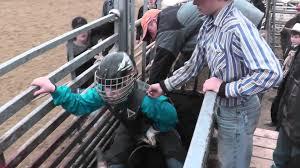 Cadillac Ranch Annapolis Coco Riding Bull At Cadillac Ranch 2016 08 08