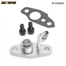 <b>Turbo Oil Feed Return</b> Flange For TOYOTA CT9 CT12 CT20 CT26 ...