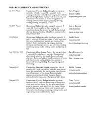resume for babysitter resume for nanny babysitter nanny nanny resume examples nanny resume seangarrettecoresume examples nanny professional nanny resume examples nanny job resume samples nanny