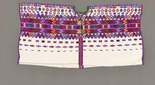 Ceremonial huipil (<b>geometric style</b>) — Google Arts & Culture