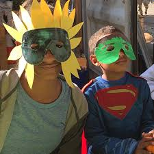 hero alliance childrens halloween ball us captain masks makeup prop 5pcs lot new american mask