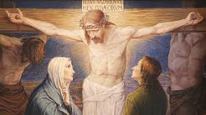 Image result for mary and john at the cross