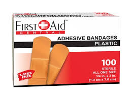 """Buy <b>Plastic Adhesive Bandages</b> 3/4"""" x 3"""" Sterile - Canadian Safety ..."""