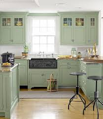 green paint kitchen pt  colorful kitchens we love home decor kitchen design painting