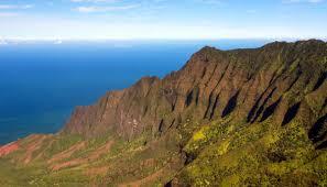 describing hawaii a beautiful mountain ridge on kauai
