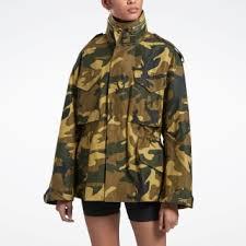 Reebok Куртка VB Military - <b>зеленый</b> | Reebok Россия