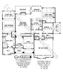Muir Cottage House Plan   Craftsman House Plansmuir cottage house plan   st floor plan