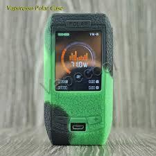 10pcs Vaporesso polar 220W <b>Box</b> mod Cover <b>Case Silicone Skin</b> ...