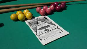 pool table dining antique
