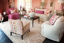 Pink Living Room Furniture Damask Rug Decorate With Pink But Avoid Pink Rugs
