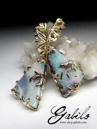 <b>Серьги с крупными</b> камнями купить - Gabilo