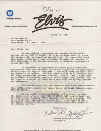 untitled document promo letter signed by both producers andrew solt and malcolm leo