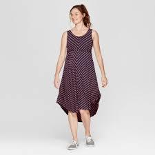 <b>Maternity</b> Striped <b>Sleeveless Dress</b> Isabel <b>Maternity</b> by Ingrid Isabel ...