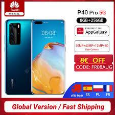 <b>Global Version Huawei P40</b> Pro 5G 8GB 256GB Kirin 990 ...
