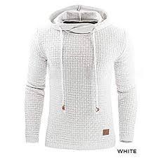 <b>Plus Size XL-4XL Men's</b> Winter Hoodie Warm Hooded Sweatshirt ...