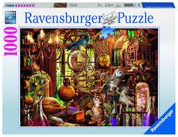 """<b>Пазл Ravensburger</b> """"Лаборатория Мерлина"""" 1000 шт. арт.19834 ..."""