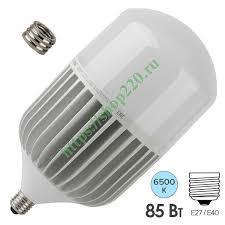 Купить <b>Лампа</b> светодиодная <b>ЭРА LED</b> POWER T140 85W 6500K ...