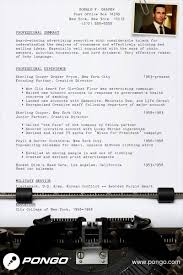 don draper s resume pongo blog don draper