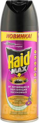 <b>Аэрозоль от насекомых Raid</b> Весенний луг, 300 мл — купить в ...