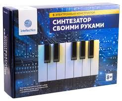 Набор <b>Intellectico</b> Электронный <b>конструктор</b>. Синтезатор <b>своими</b> ...