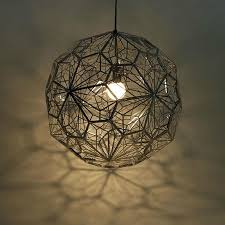 aliexpresscom buy modern etch web lampshade pendant light vintage industrial lighting ball art decor hanging lamp cage retro luminaires led lustre from aliexpresscom buy vintage industrial lighting modern
