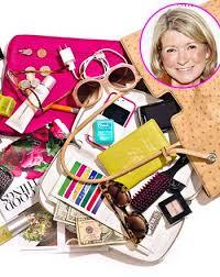 clutter purse martha stewart