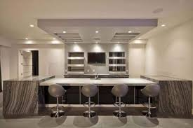 contemporary basement bar cabinets stainless steel