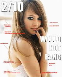 2/10 Would Not Bang: 4chan's Funniest New Meme | Slacktory via Relatably.com