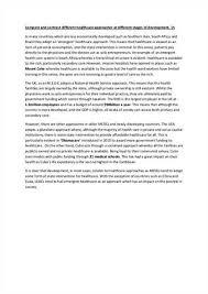 argumentative essay on healthcare free essays  essay benefits of obamas healthcare reform  online essays