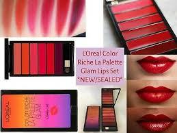 <b>L'Oreal</b>: <b>Color Riche</b> La Palette <b>Glam</b> Lips Set X 6 *NEW/SEALED ...