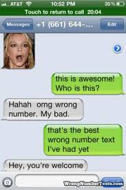 Funny texts on Pinterest | Wrong Number Texts, Texts and Numbers via Relatably.com