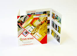 promotional printing paper printing cgl retail solutions 5 star cleaning brochures