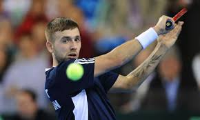 Britain trail 2-0 to Russia in Davis Cup after heroic Dan Evans ... - Dan-Evans-played-so-well--008