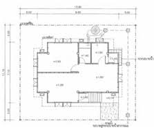 Marvelous One Bedroom House Plans   House Plans And Home Designs        Amazing One Bedroom House Plans   Thai House Plans Compact Bedroom Teakdoor Com The