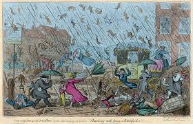 """What is the origin of the phrase """"it's raining <b>cats and dogs</b>?""""   Library ..."""
